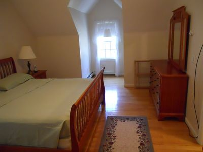 Plymouth house rental - Master bedroom