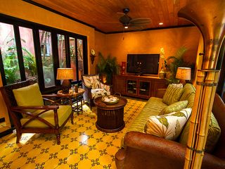 Tamarindo house photo - Plush Seating in Living Area...custom designed couch and chairs to enjoy