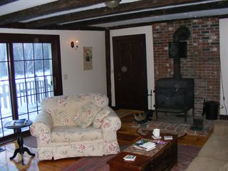 Alton farmhouse photo - Enjoy the views, a good book, a movie or play a game in the Tavern.