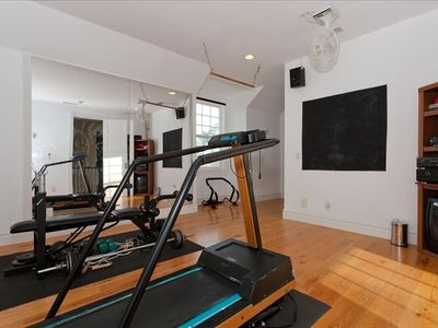 Excercise room off master bedroom