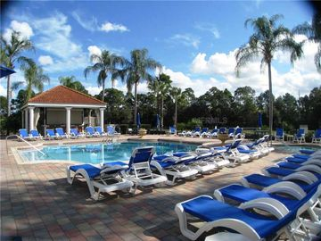 Emerald Island Resort- Clubhouse Pool. It is just a minute walk from the villa.