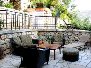 Dubrovnik villa photo - Another view of the sunny terrace.