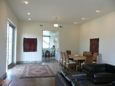 Austin house rental - living & dining