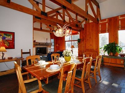 Dining - Main Level Breckenridge vacation rental home
