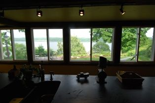 Milton cottage rental - Views from the HUGE Kitchen