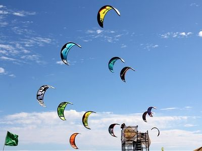 World-class kite boarding beach is just minutes away