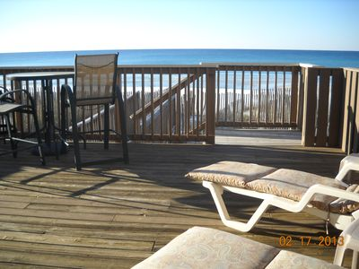 Crystal Beach townhome rental