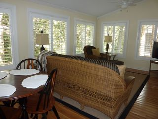 Seabrook Island cottage photo - Sunroom another view