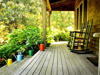 Chilmark house photo - Relax on the farmer's porch