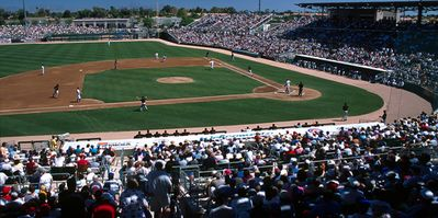 Cactus League baseball features over 200 games in 30 days!