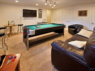 Game Room with 50' Flat Screen Television