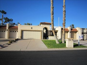 Sun Lakes townhome rental - Rental from the street