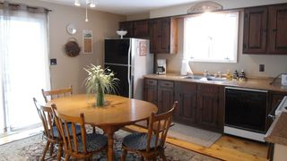 Orleans house photo - Eat in Kitchen with dishwasher, table with 4 chairs and bench. Slider to deck.