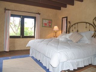 Tepoztlan estate photo - Simple yet elegant bedroom.