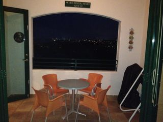 Rio Mar villa photo - Balcony night view