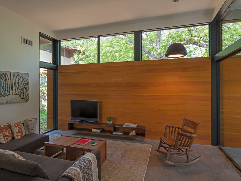 Modern Small House in Travis Heights