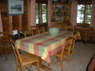 Squam Lake house photo - Dining area