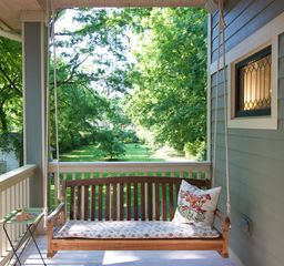 Nashville cottage photo - Nothing like a porch swing to relax and let go of all your stress...