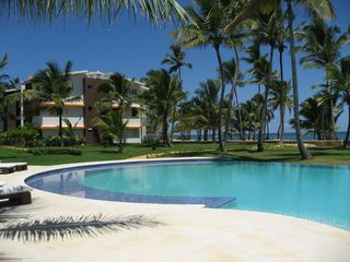 Punta Cana condo photo - Your unit from poolside