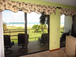 Great View from Outdoor Balcony - Cocoa Beach condo vacation rental photo