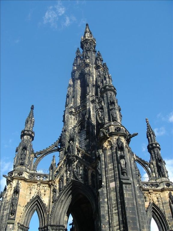 Scott Monument, again worth the climb if visiting Princes street gardens.