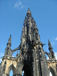 Edinburgh apartment rental - Scott Monument, again worth the climb if visiting Princes street gardens.
