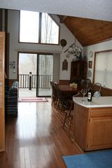 Bryson City chalet photo - Even on a snowy day Chalet at Sawyer Creek is special.