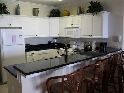 Absolutely amazing newly decorated kitchen - best kitchen at Emerald Isle BY FAR