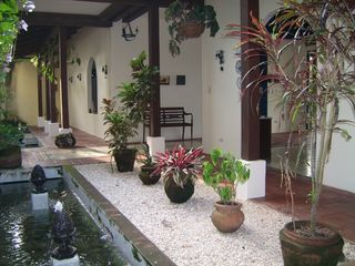 Mal Pais villa photo - Central Courtyard