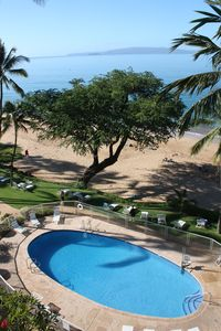 Spectacular views from our Lanai, you are right on the beach!
