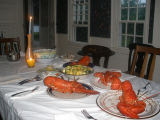 Dennis Village house photo - Serve for dinner local lobsters trapped daily or take a boat to get your own.
