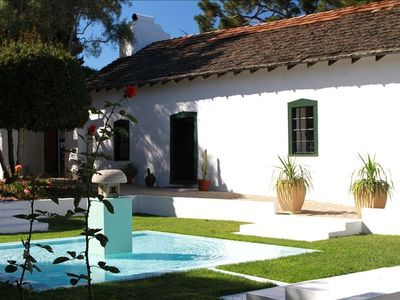 The two hundred year old and immaculately maintained Boronda Adobe.