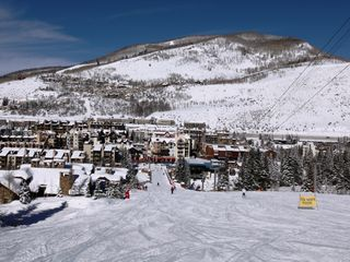 Vail condo photo - View towards Lionshead
