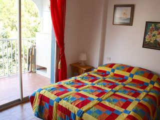 Fuengirola apartment photo - Main Bedroom. Quilts by Dolores.