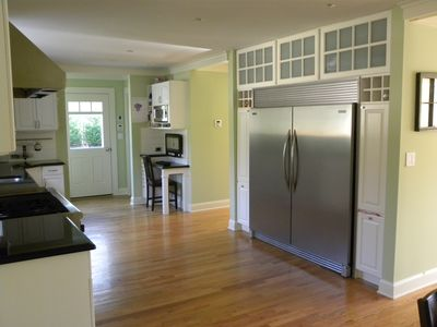 East Hampton house rental - Extra Large Refrigerator