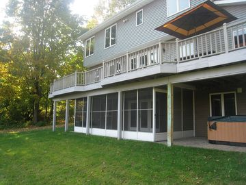 Deck and Screened in Porch