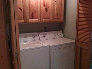 Built in washer and dryer
