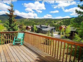 Keystone townhome photo - Picturesque Surroundings from the Back Deck