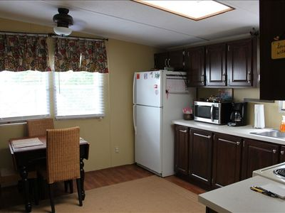 Full  kitchen,blender,microwave,toaster,stove