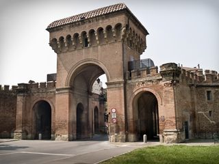 Bologna apartment photo - Majestic Porta Saragozza, one of Bologna's Medieval gates, is 3 minutes walk.