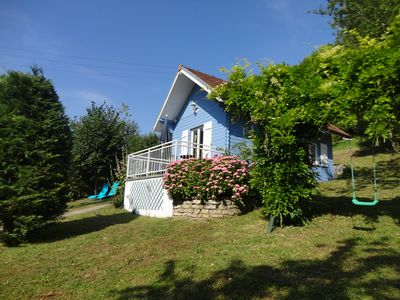 Gite de France 3 ears classified fishing cottage ', 2 people, WIFI internet