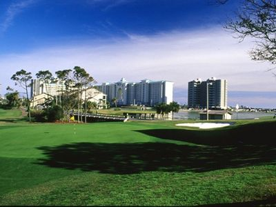 Majestic Sun on Seascape Resort Golfcourse