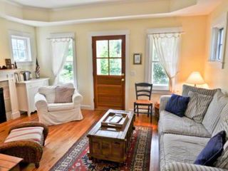 Edgartown house photo - Inside, There Is A Sunny, Comfortable Living Room