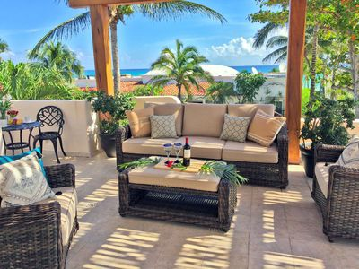 Your ocean view terrace off the master suite