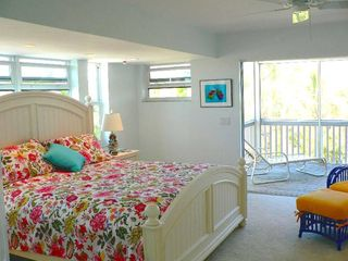 North Captiva Island house photo - The Master Bedroom is Light and Breezy w/ King Bed Facing Ocean