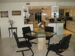 Deerfield Beach condo photo - View of Dining Table & Kitchen beyond