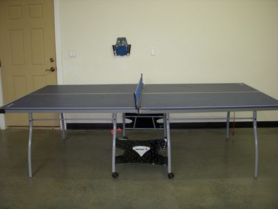 Eagle Crest house rental - Ping Pong table located in the Garage