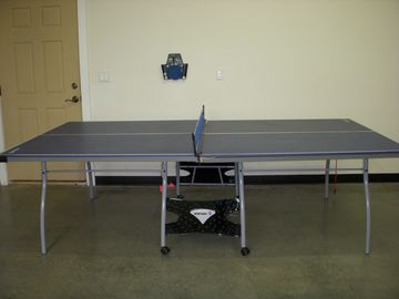 Ping Pong table located in the Garage