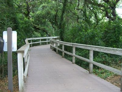 Walking and Bike paths wind throughout the Plantation