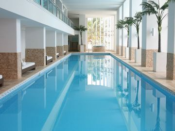 Olympic size (25m) indoor lap pool